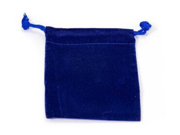 Blue Velvet Pouch ( S, M, L or XL)-Crystal Dreams