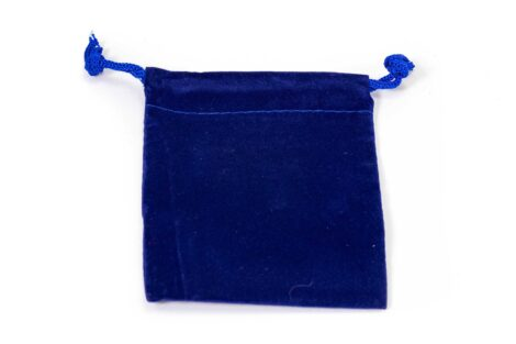 Small Velvet Pouch (Blue or Red) 1