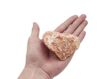 Rough Orange Calcite - Crystal Dreams
