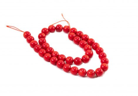 Red Coral Beads - Crystal Dreams