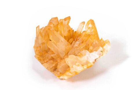 Tangerine Quartz Druze - Crystal Dreams