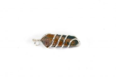 Clear Quartz spiral pendant from India (Copy)