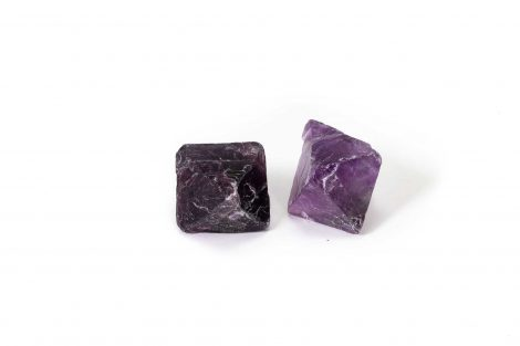 Purple Fluorite Octahedron 1