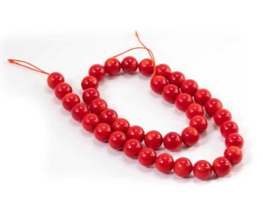 Red Coral Beads- Crystal Dreams