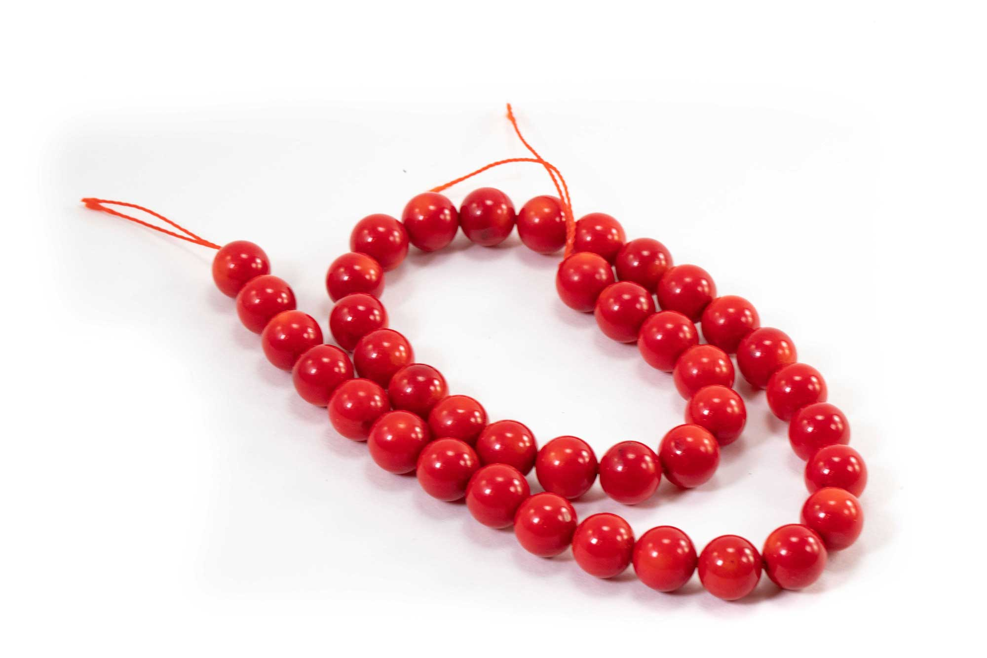 bec71a496a2e5 Red Coral Beads (10mm or 8mm)