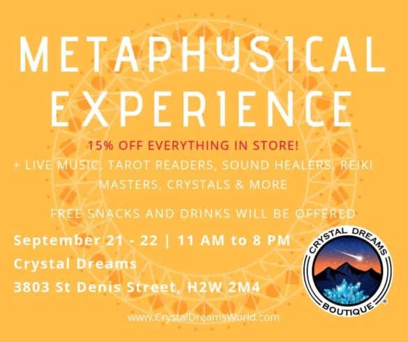 Metaphysical Experience Event 1