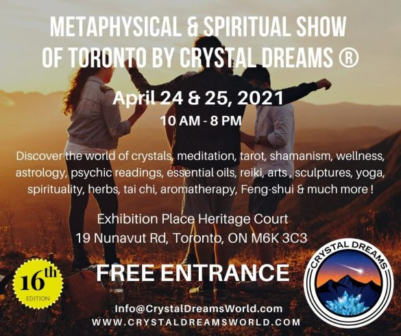 Metaphysical & Spiritual Show of Toronto - Crystal Dreams