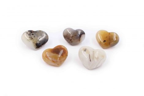 Agate Small heart