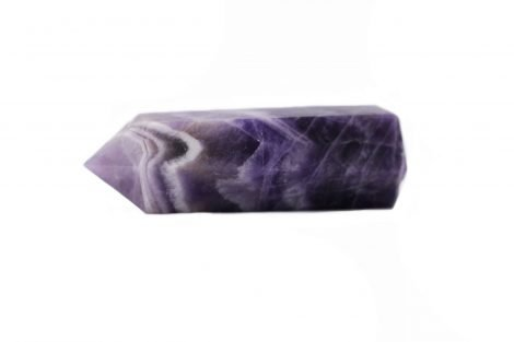Amethyst Chevron Point _ Prism - Améthyste Pointe Prism- Crystal Dreams
