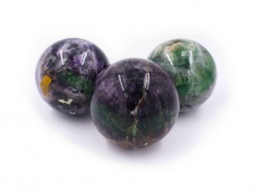 Fluorite Boule Sphere- Crystal Dreams