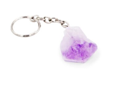 Amethyst point Keychain - Crystal Dreams