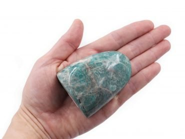 Amazonite Polished Free form Flat Base