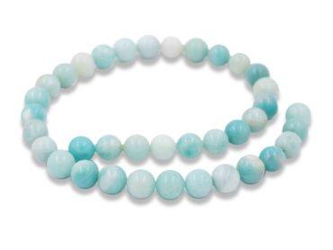 Amazonite beads natural stones - Crystal Dreams