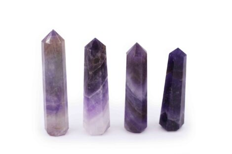 Amethyst Polished Point - Prism from India
