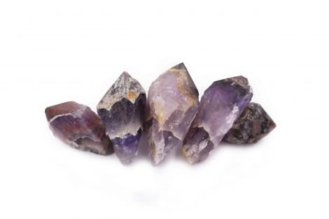 Auralite Amethyst Red Tip Natural Real - Crystal Dreams