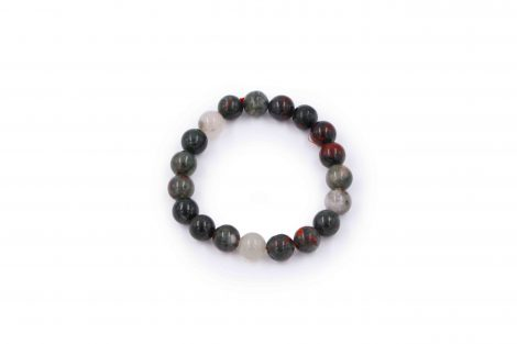 Bloodstone bracelet natural - Crystal Dreams