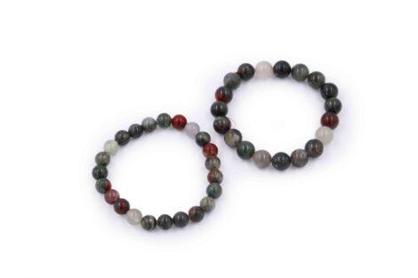 Bloodstone bracelet natural - Crystal Dreams