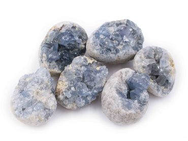 Celestite cluster geode rough - Crystal Dreams