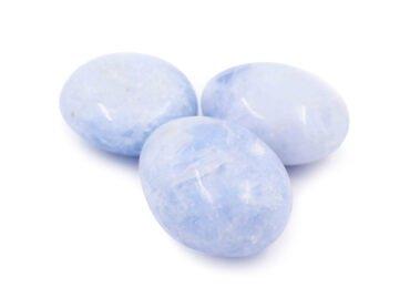 Blue Calcite Palmstone - Crystal Dreams