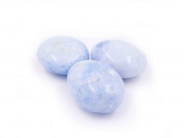 Celestite Palm stone celestine natural - Crystal Dreams