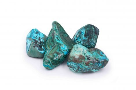 Chrysocolla and Malachite stone natural - Crystal Dreams