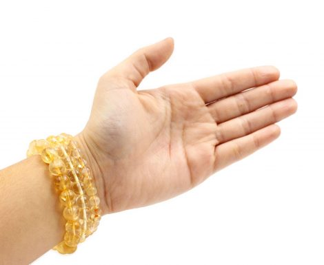 Citrine Bracelet - Crystal Dreams