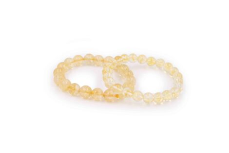Citrine bracelet polished stone - Crsytal Dreams