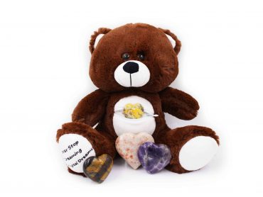 Crystal Heart Teddy Bear - Crystal Dreams