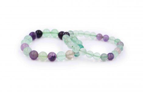 Fluorite bracelet stone natural - Crystal Dreams