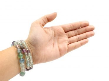 Fluorite bracelet stone natural - Crystal Dreams