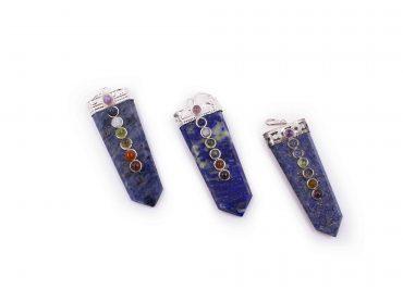 Lapis Lazuli seven chakra 7 stones - Crystal Dreams