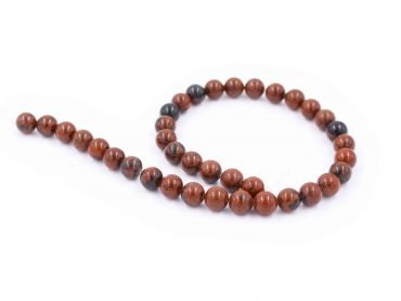 Natural Mahogany obsidian beads stone - Crystal Dreams