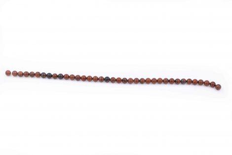 Natural Mahogany obsidian beads stone - Crystal Dreams
