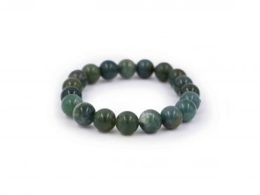 Moss Agate mousse bracelet - Crystal Dreams