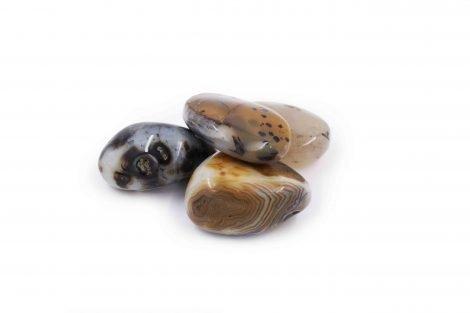 Agate tumbled polished natural - Crystal Dreams