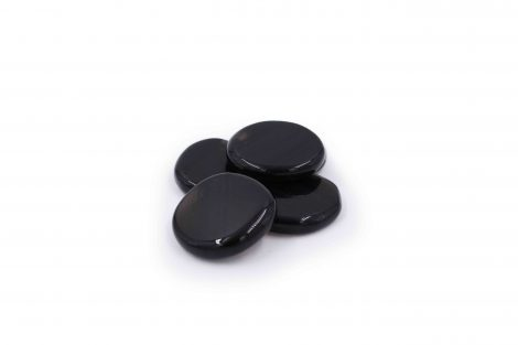 Night Laced Obsidian stone Polished - Crystal Dreams