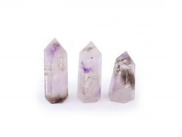 Smoky Amethyst Prism point - Crystal Dreams
