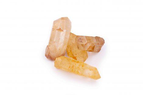 Tangerine Orange Quartz rough natural points - Crystal Dreams