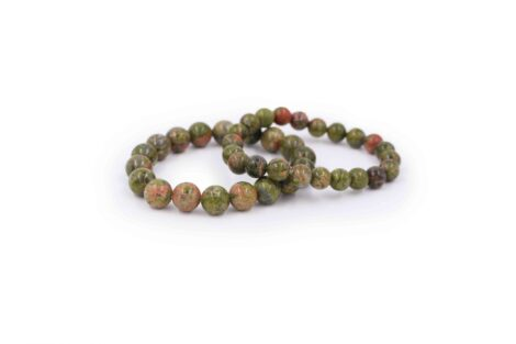 Unakite bracelet gemstone natural - Crystal Dreams