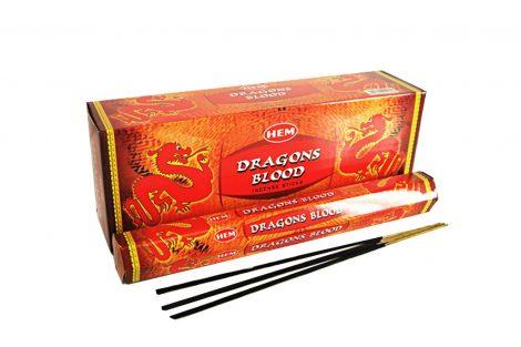 Red Dragons Blood Hem Incense-Crystal Dreams