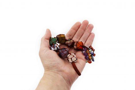Seven Chakras String Wrap - Crystal Dreams