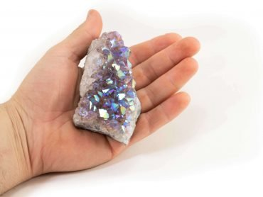 Aura Quartz Amethyst Rough