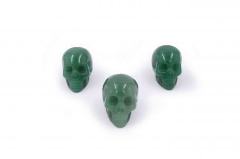Aventurine Skull-Crystal Dreams