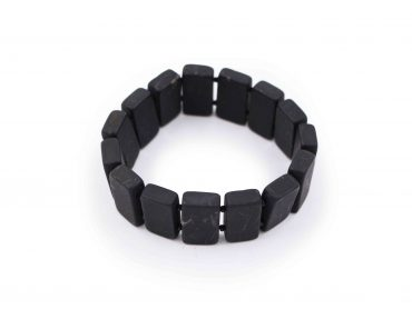 Shungite Square Bracelet - Crystal Dreams