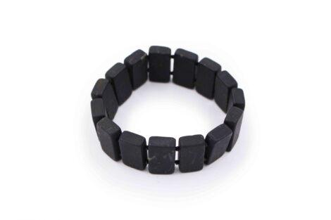 Shungite Square Bracelet - Crystal Dreams