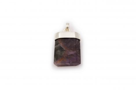 """Cacoxenite """"Polished"""" Pendant Sterling Silver - Crystal Dreams"""