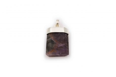 "Cacoxenite ""Polished"" Pendant Sterling Silver - Crystal Dreams"