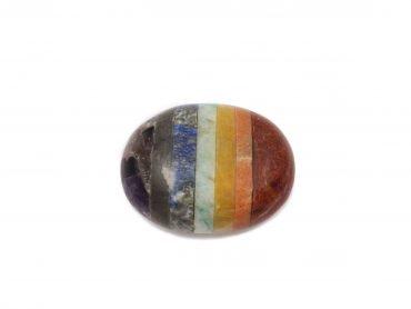 7 Chakras Palmstone- Crystal Dreams