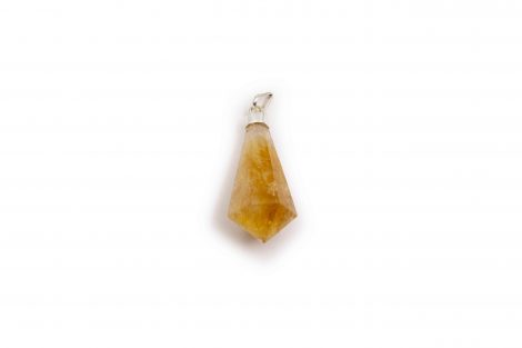 "Citrine ""RG"" sterling silver point - Crystal Dreams"