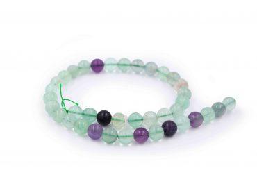Rainbow Fluorite beads - Crystal Dreams